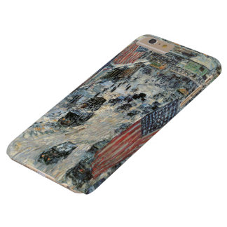 Flags on 57th Street by Childe Hassam, Vintage Art Barely There iPhone 6 Plus Case