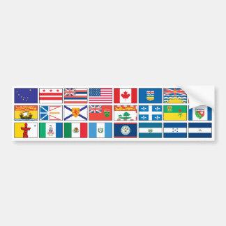 Flags Series - #3 Car Bumper Sticker