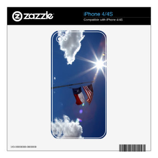 Flags iPhone 4 Decal