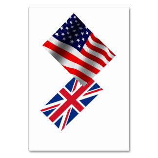 Flags Table Card