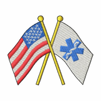 Flags with star Of Life