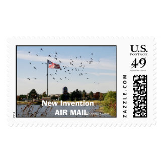 FlagsAA copy, New Invention   AIR MAIL Postage Stamp