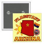 Flagstaff, Arizona 2 Inch Square Button