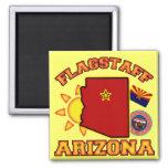 Flagstaff, Arizona 2 Inch Square Magnet