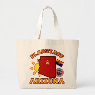 Flagstaff, Arizona Canvas Bags