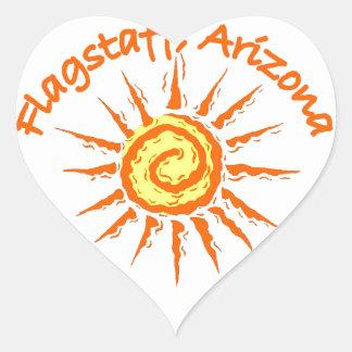 Flagstaff, Arizona Heart Sticker