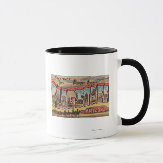 Flagstaff, Arizona - Large Letter Scenes Mug