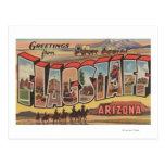 Flagstaff, Arizona - Large Letter Scenes Postcard