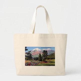 Flagstaff Arizona San Francisco Peaks Canvas Bag