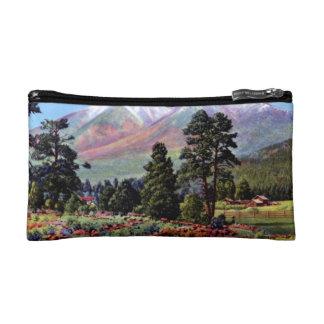 Flagstaff Arizona San Francisco Peaks Cosmetic Bag