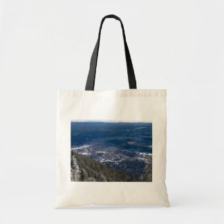Flagstaff As Viewed From Atop Mount Elden, After A Canvas Bags