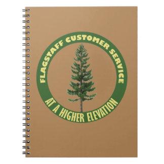 Flagstaff Customer Service Notebook