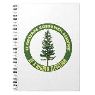 Flagstaff Customer Service Spiral Note Books