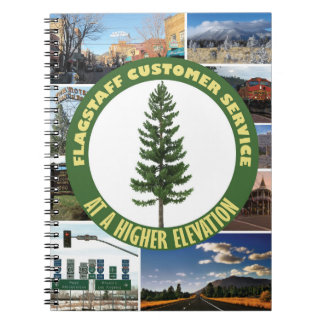 Flagstaff Customer Service Spiral Notebook