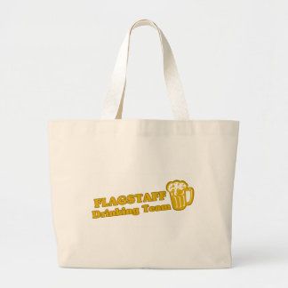 Flagstaff Drinking Team tee shirts Canvas Bags