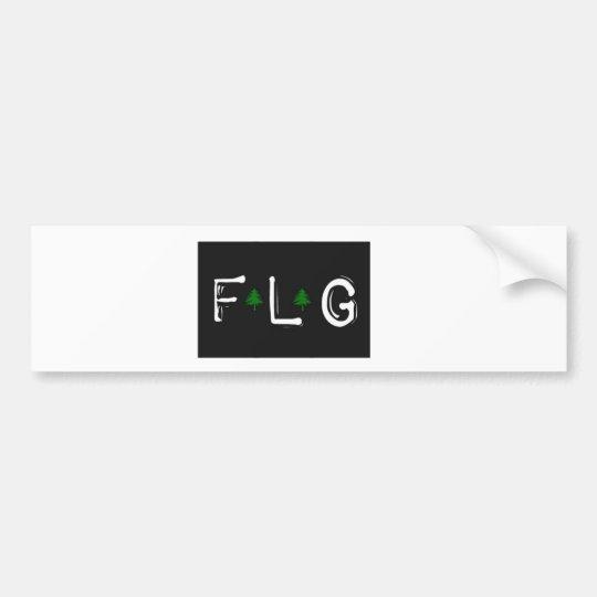 Flagstaff FLG bumper sticker