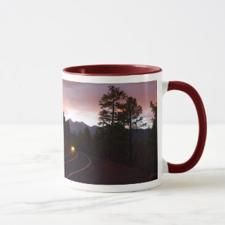 Flagstaff Sunset Arizona Mug