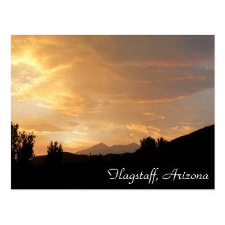 Flagstaff Sunset Postcard