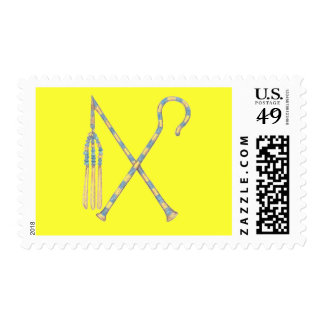 Flail and Crook Postage