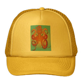 Flailing Octopus Trucker Hat