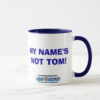 Flair Bartender- My Name's Not tom Mug