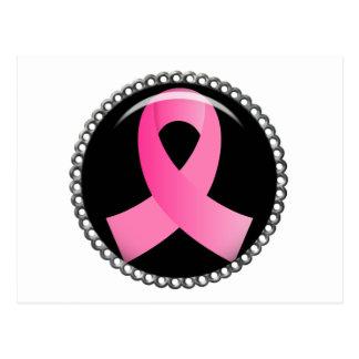 Flair Breast Cancer Pink Ribbon Postcard