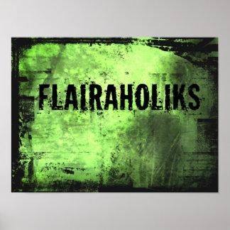 Flairaholiks Poster