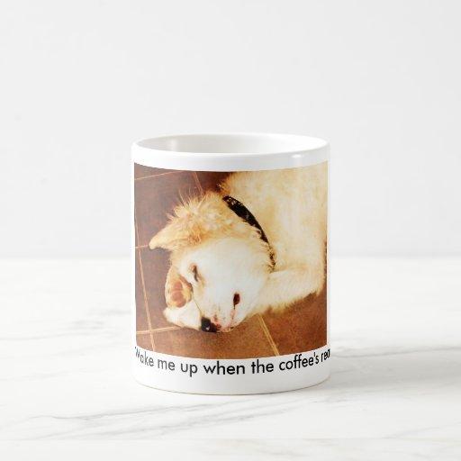 flake 001, Wake me up when the coffee's ready! Coffee Mugs