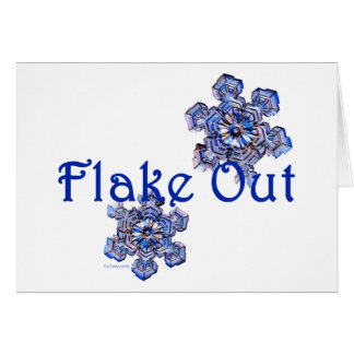 Flake Out Cards