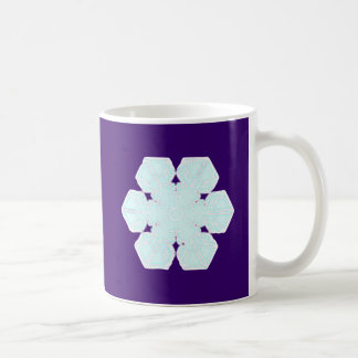 Flake snow flake coffee mug