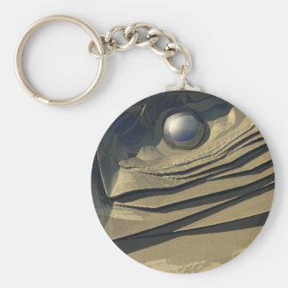 Flakes of Gold Key Chains