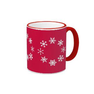 Flakes Ringer Mug