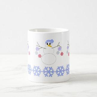 Flakey Snowman Coffee Mug