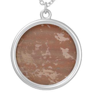 Flaking Rusting Metal Texture Background Pendants