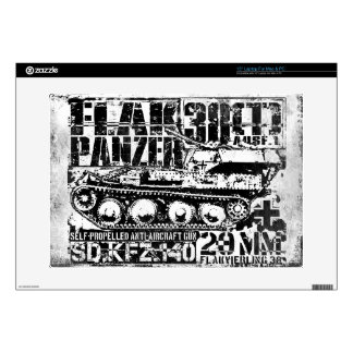"""Flakpanzer 38(t) 15"""" Laptop For Mac & PC Skin Decals For Laptops"""