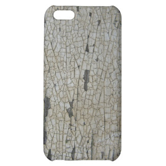 Flaky cracked white paint, white with some rust cover for iPhone 5C