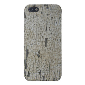 Flaky cracked white paint, white with some rust iPhone 5 cases