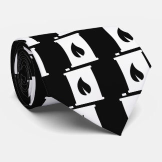 Flamable Containers Graphic Tie