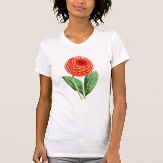 """""""Flambeau Dahlia"""" Vintage Illustration Tee Shirt"""