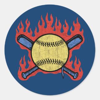 Flambeau Field Classic Round Sticker