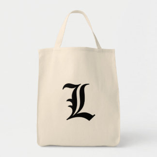 "Flamboyant monogram ""L"" Tote Bag"