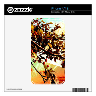 Flamboyant Nature - Warm Colors Skin For The iPhone 4S