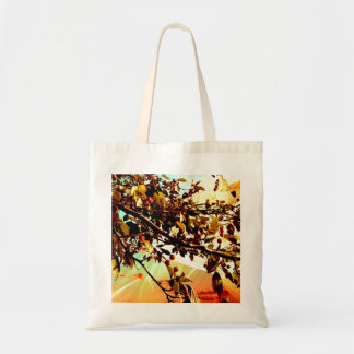 Flamboyant Nature - Warm Colors Tote Bag