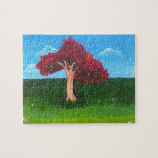 Flamboyant Tree Jigsaw Puzzle