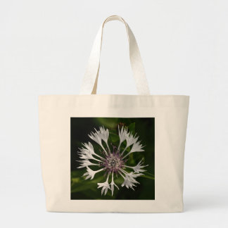 Flamboyant White Large Tote Bag