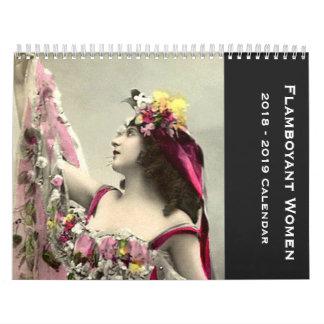 Flamboyant Women 2018 - 2019 Calendar