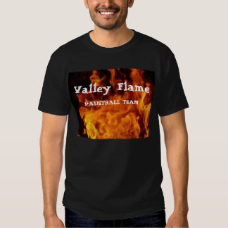 flame2, Valley Flame, PAINTBALL TEAM T-Shirt