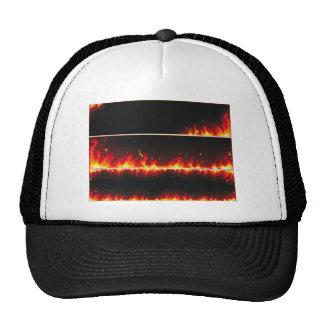 flame#1 trucker hat