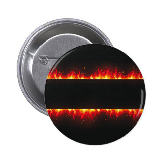 flame#2 2 inch round button