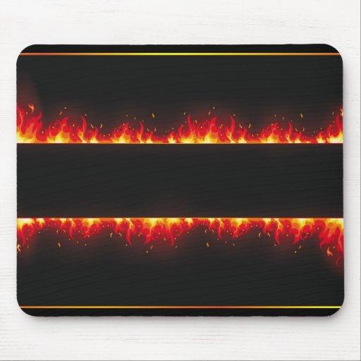 flame#2 mousepads